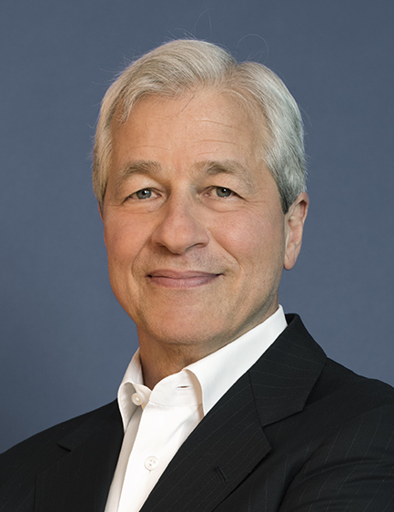Jamie Dimon, Chairman of the Board & CEO, JPMorgan Chase & Co.